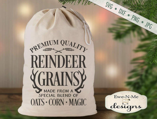 Reindeer Grains - SVG
