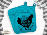 Farmhouse Potholder Bundle - SVG