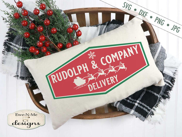 Rudolph and Company Delivery - SVG