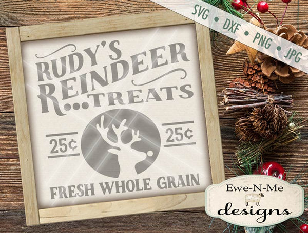 Rudys Reindeer Treats - SVG
