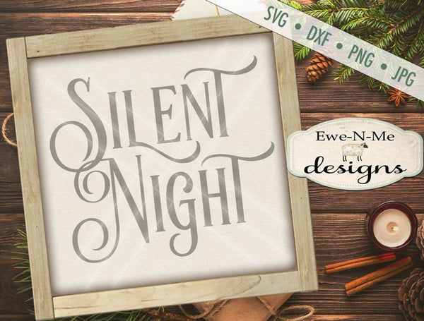 Silent Night - SVG