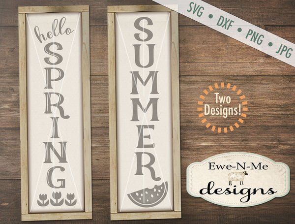 Spring Summer Vertical - SVG