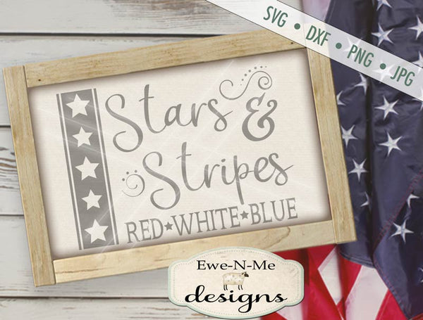Stars and Stripes 2 - SVG
