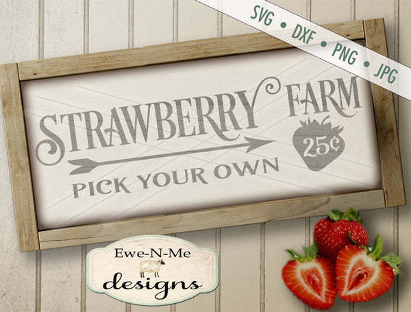 Strawberry Farm - SVG