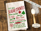 Sugar Cookie Recipe - Kitchen - Christmas - SVG