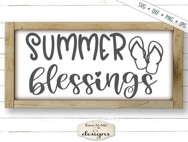 Summer Blessings - SVG