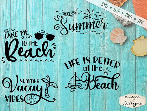 Summer Vacation - Beach Bundle - SVG