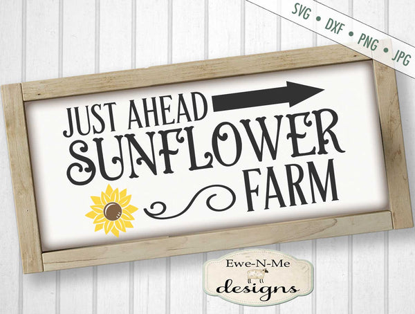 Sunflower Farm - Summer - SVG