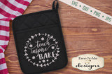 School Themed Pot Holder Bundle - SVG