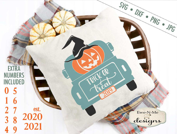 Back of Truck - Trick or Treat - SVG
