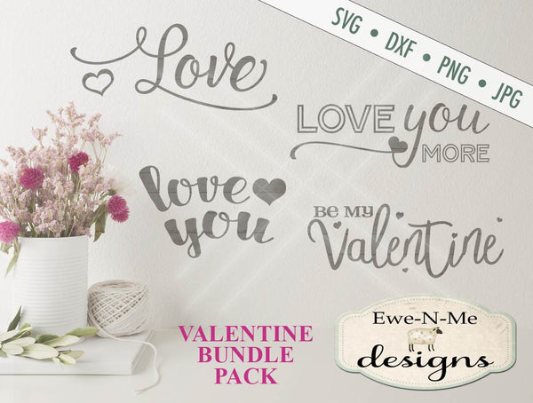 Valentine Bundle Pack - SVG