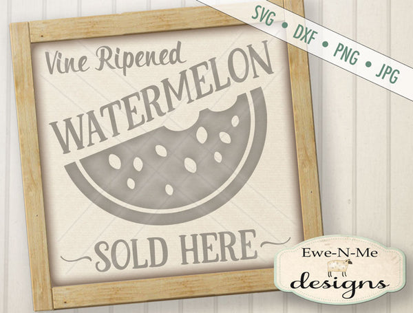 Watermelon Sold Here - SVG