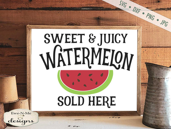 Watermelon - Sold Here - SVG