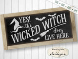 Wicked Witch - Halloween - SVG