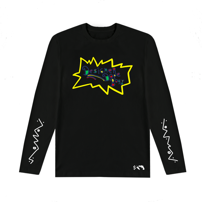 Designer Dope Boyz Long Sleeve Tee (Black)