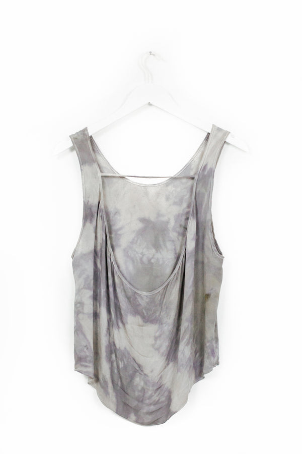 Thea Backless Tank - Celestial Rain - M