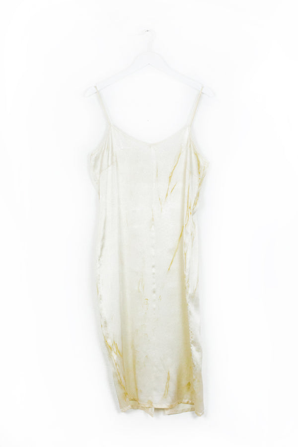 Aphrodite Slip Dress - Golden Fields - M