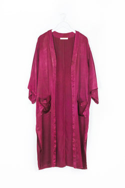 Ceremony Duster - Ruby Red - M/L