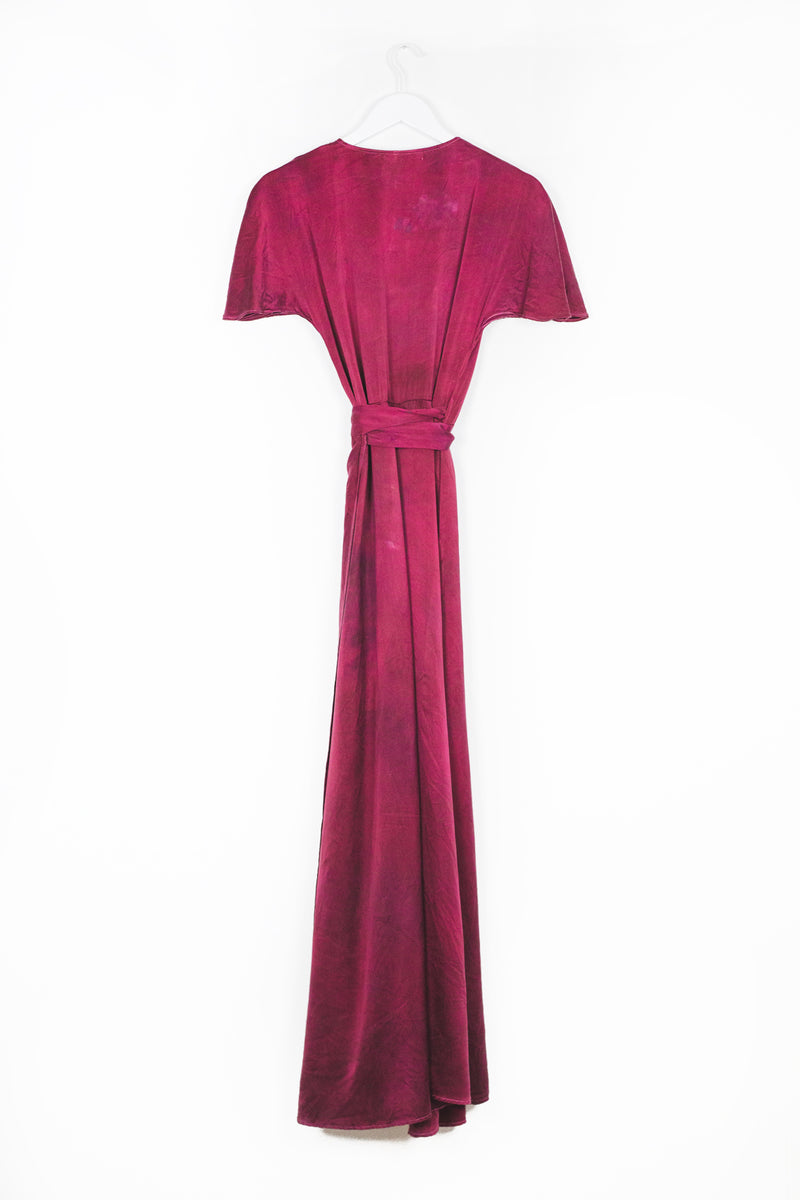 Venus Wrap Dress - Ruby