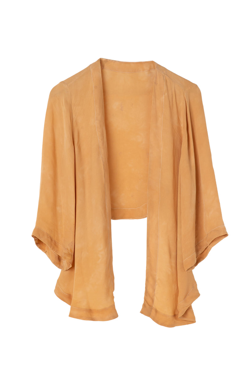 Georgette Wrap Top - Desert Sand