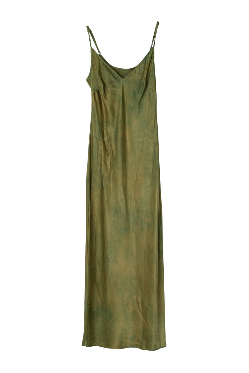 APHRODITE MIDI DRESS - MOSS FIELDS