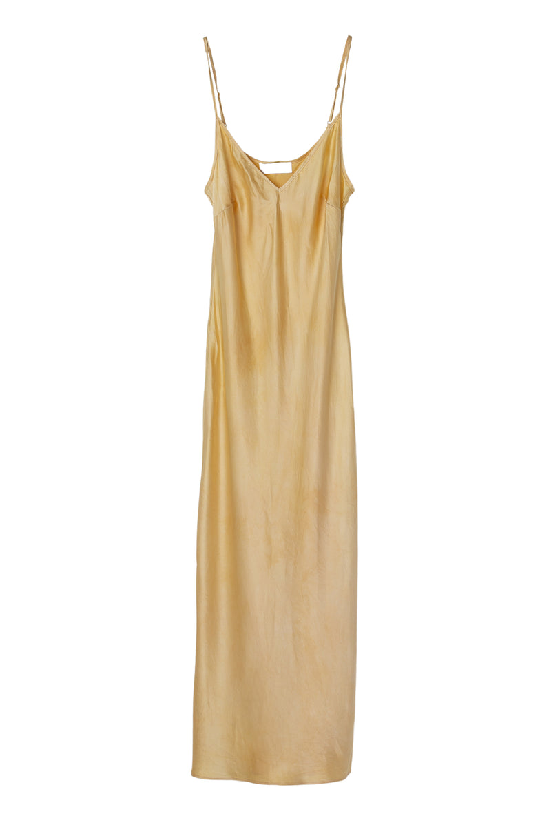 APHRODITE MIDI DRESS - LEMON IRIS