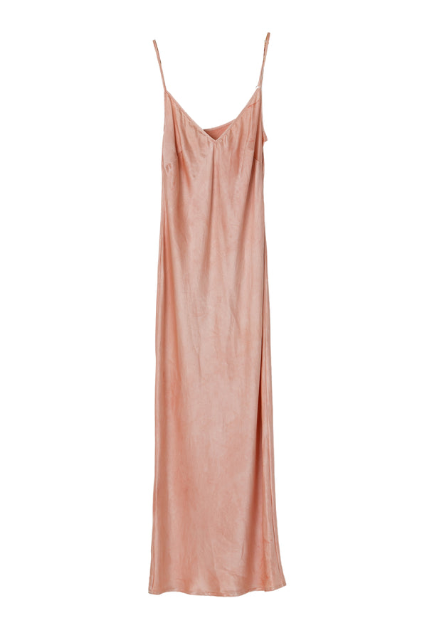 APHRODITE MIDI DRESS - RUSTY ROSE