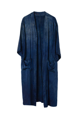 CEREMONY DUSTER - SAPPHIRE - S - Last One Left!