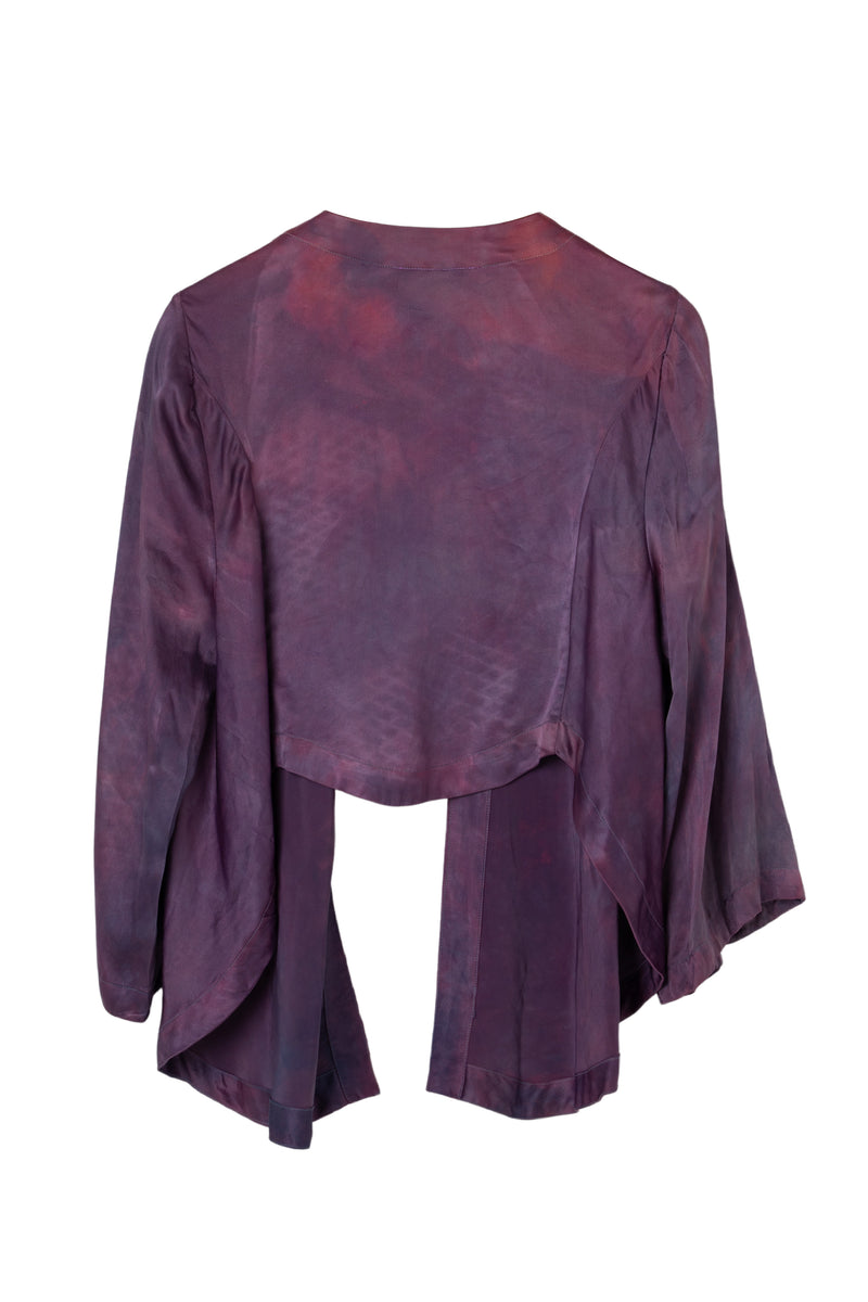 GEORGETTE WRAP TOP - MAGENTA HAZE