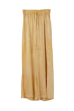 FRIDA WIDE LEG PANT - LEMON IRIS