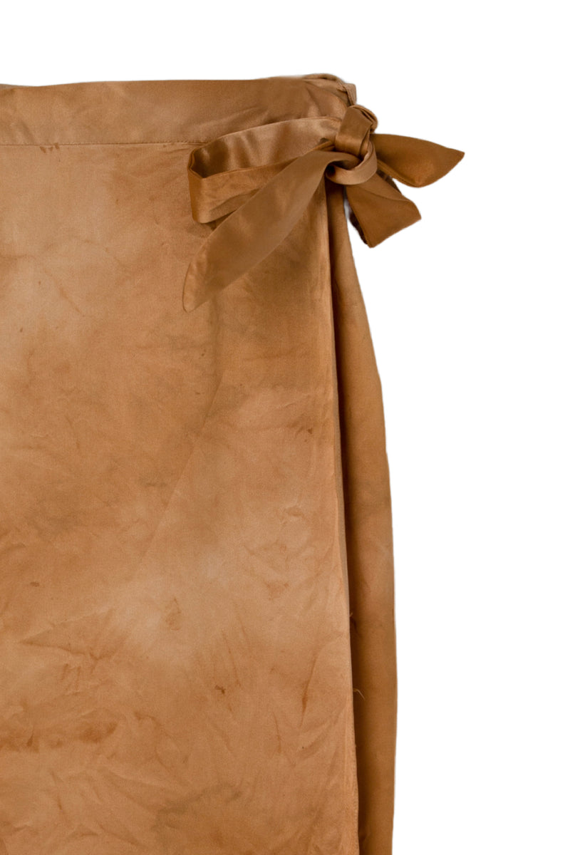 CIRCE WRAP SKIRT - DESERT SAND