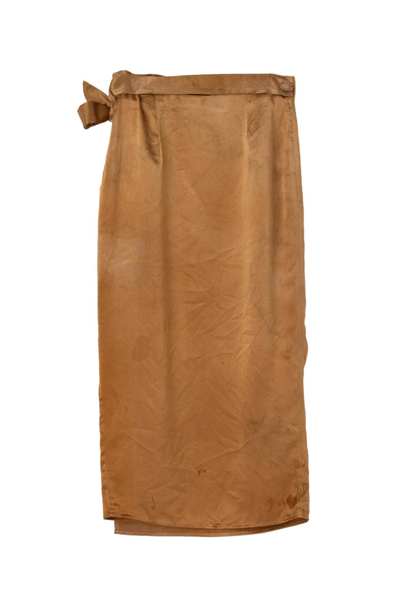 CIRCE WRAP SKIRT - DESERT SAND - XS - Last One Left!