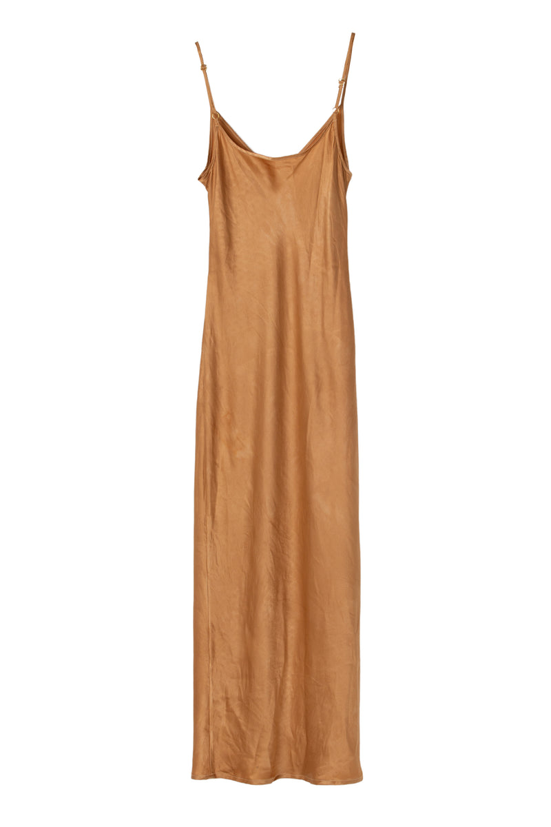 APHRODITE MIDI DRESS - DESERT SAND