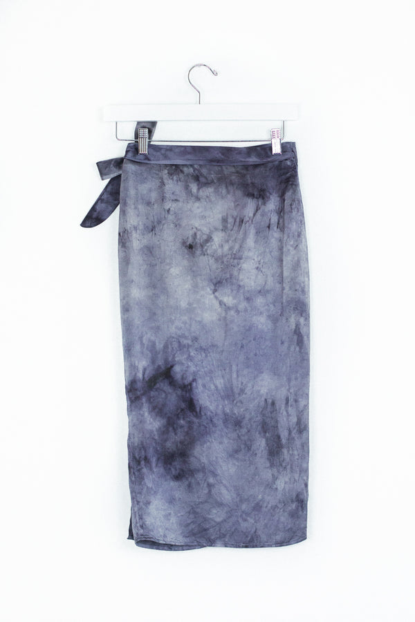 Circe Wrap Skirt - Lunar Eclipse - S