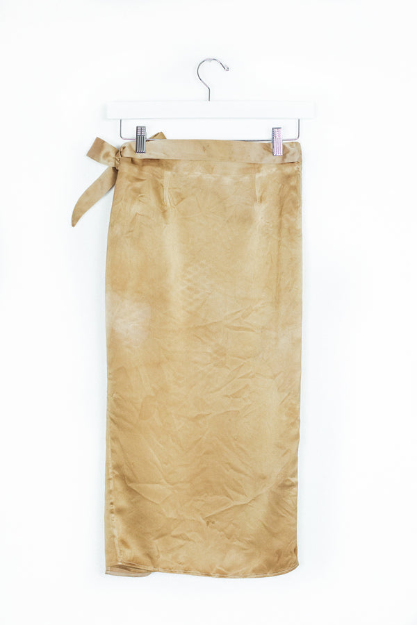Circe Wrap Skirt - Amber Resin - XS