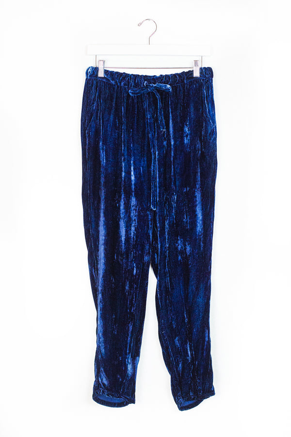 Velvet Dharma Pant - Third Eye - L