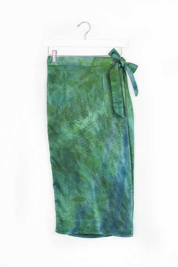 Circe Wrap Skirt - Hummingbird - S
