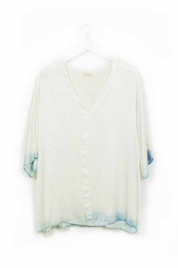 Grace Top - Ocean Spray - L