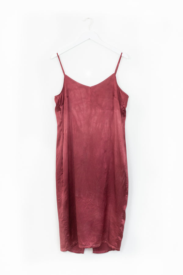 Aphrodite Slip Dress - Hot Ember - L