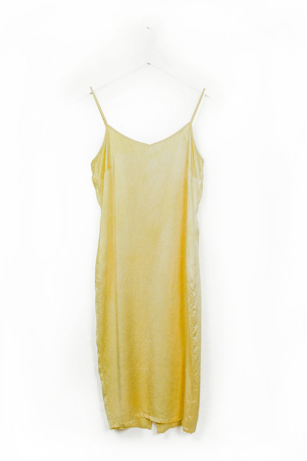 Aphrodite Slip Dress - Golden Ray - M