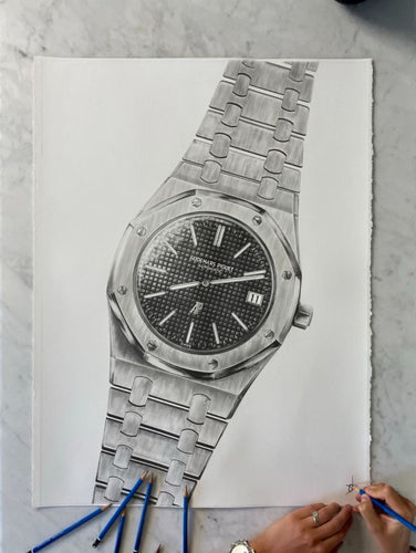 Audemars Piguet Royal Oak ref. 5402 Poster