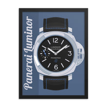 Panerai Luminor Framed Poster