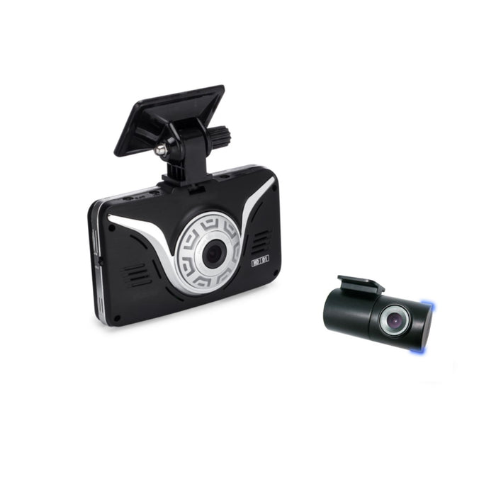 Full HD Car Black Box - ROAD VIEW Dash Cam + 2nd Camera (INTERIOR WINDOW MOUNTED)