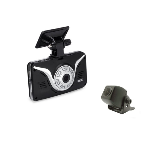 Full HD Car Black Box - ROAD VIEW Dash Cam + 2nd Camera (Mini Backup Camera)