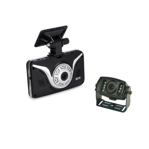 Full HD Car Black Box - ROAD VIEW Dash Cam + 2nd Camera (Backup Camera w/IR)
