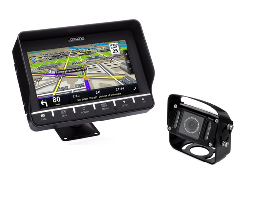 Optimo Heavy Duty Camera System - GPS Monitor