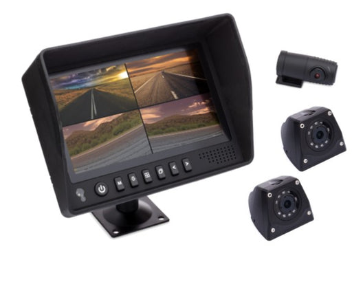 "7"" DVR Monitor + TRIPLE Camera System"