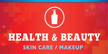 Health & Beauty (skin care/makeup)
