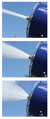 Water cannon (dust suppressor / evaporator) GEYSER