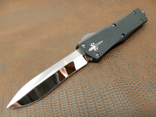 Marfione Custom Combat Troodon Recurve Mirror Polished Purple Haze